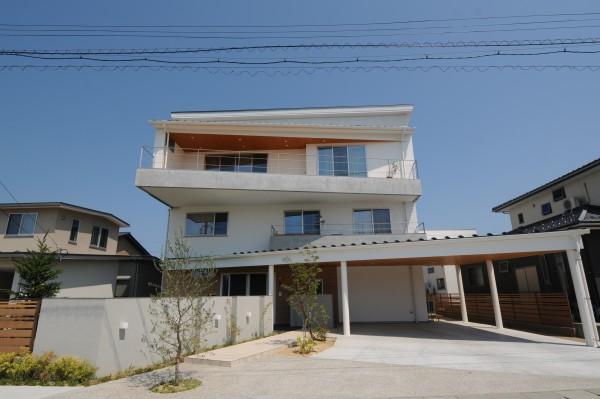 白山の見える家 (2)