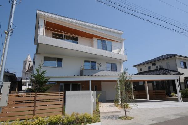 白山の見える家 (1)