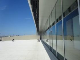 美術館2階テラス